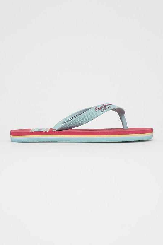 bledofialový Pepe Jeans - Detské žabky Bay Beach Dievčenský