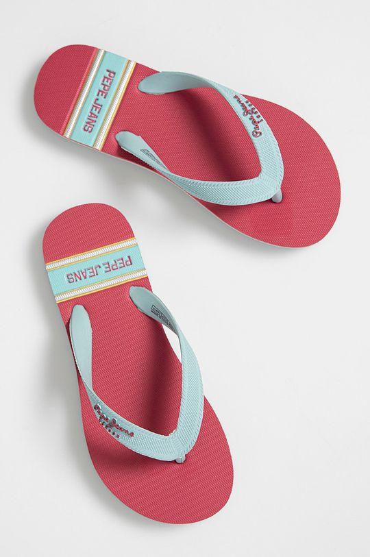 Pepe Jeans - Detské žabky Bay Beach bledofialový