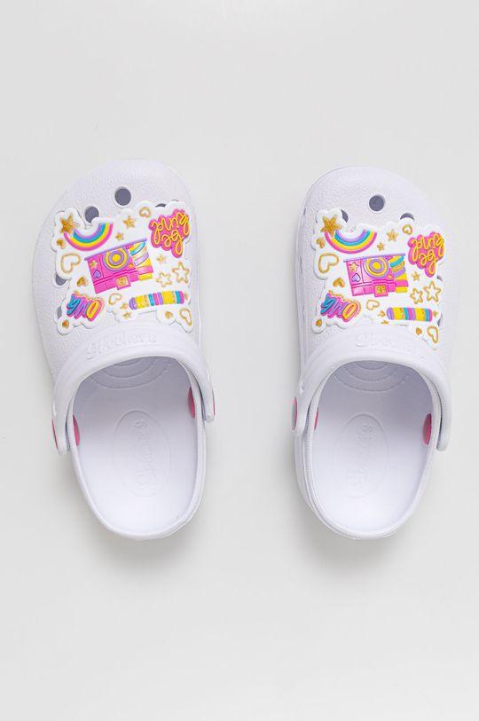 Skechers - Klapki dziecięce Dziewczęcy