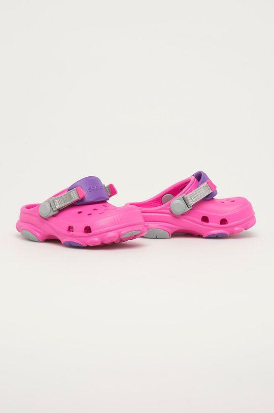 Crocs - Klapki dziecięce różowy