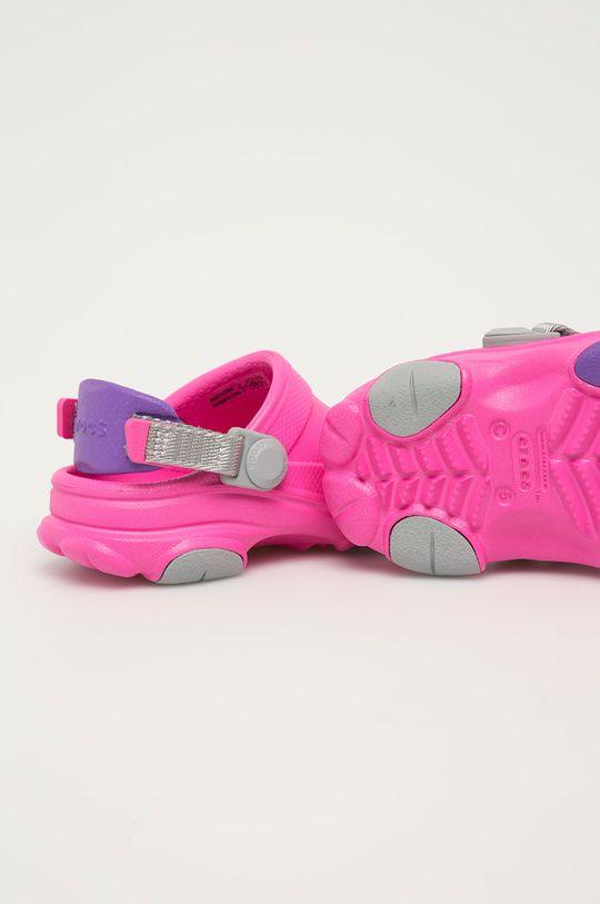 Crocs - Klapki dziecięce Cholewka: Materiał syntetyczny, Wnętrze: Materiał syntetyczny, Podeszwa: Materiał syntetyczny
