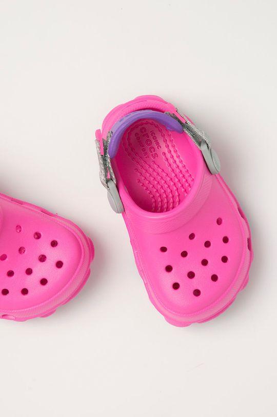 różowy Crocs - Klapki dziecięce