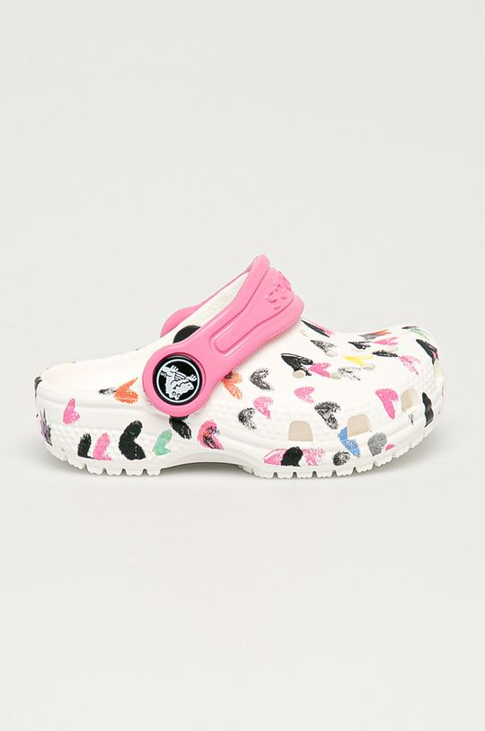 bílá Crocs - Dětské pantofle Dívčí