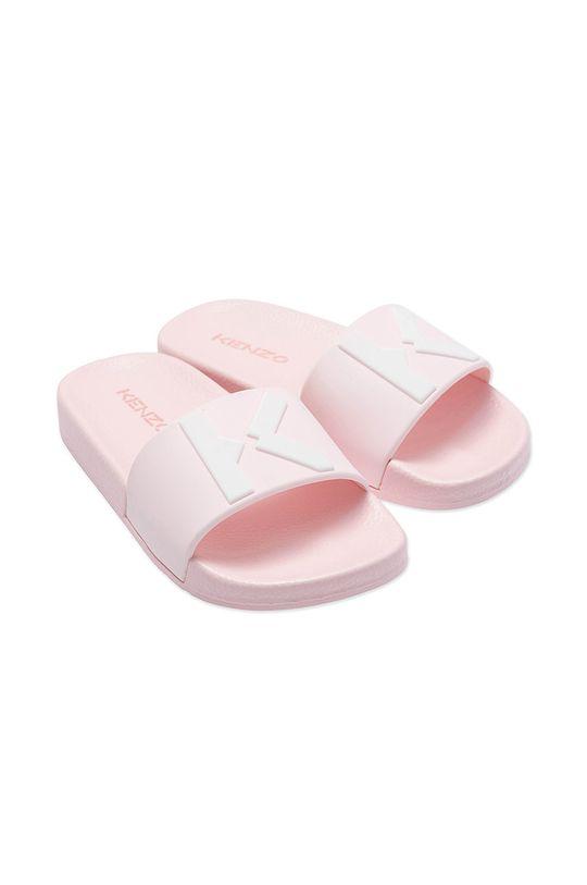 pastelowy różowy KENZO KIDS - Klapki dziecięce Dziewczęcy