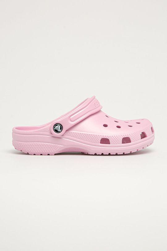 pastelově růžová Crocs - Dětské pantofle Dívčí