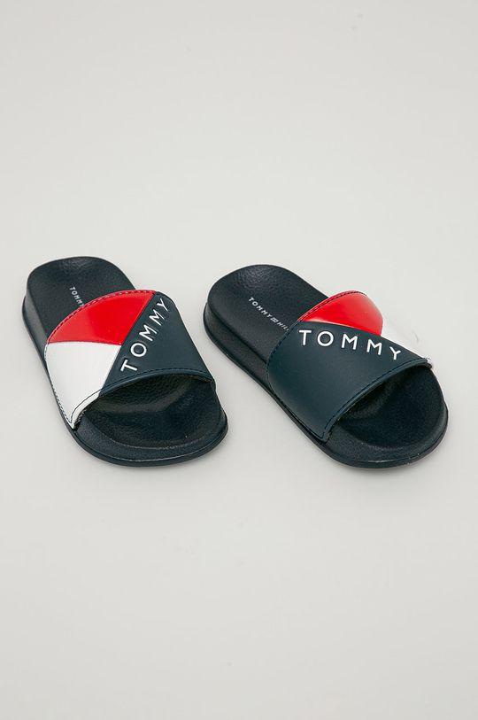 Tommy Hilfiger - Dětské pantofle námořnická modř