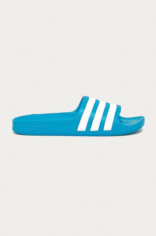 modrá adidas - Dětské pantofle Dětský