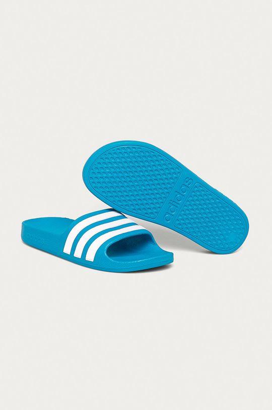 adidas - Klapki dziecięce niebieski
