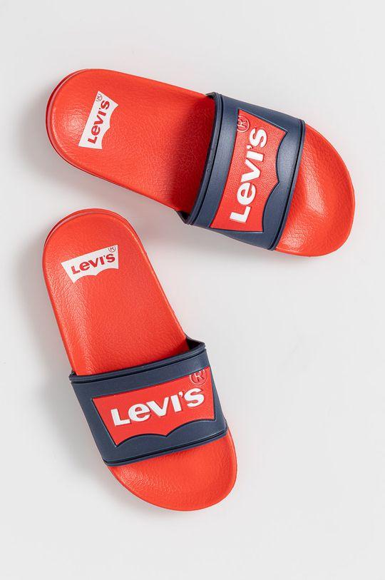 Levi's - Klapki dziecięce VPOL0060SPOOL czerwony