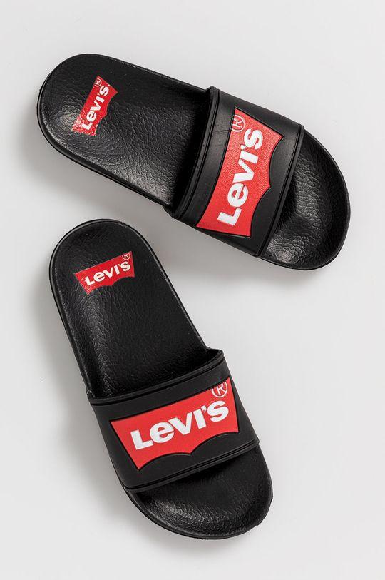 brak - Dětské pantofle VPOL0060SPOOL černá