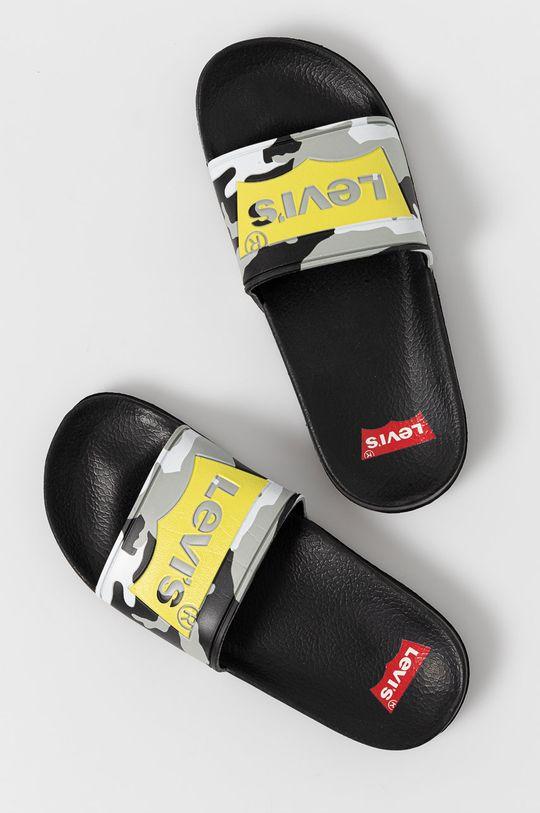 Levi's - Dětské pantofle černá