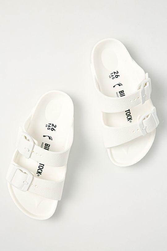 Birkenstock - Detské šľapky Arizona biela