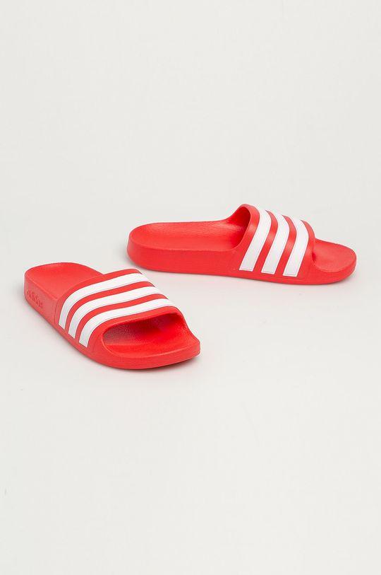 adidas - Detské šľapky Adilette Aqua červená