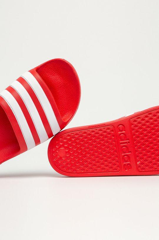 červená adidas - Detské šľapky Adilette Aqua