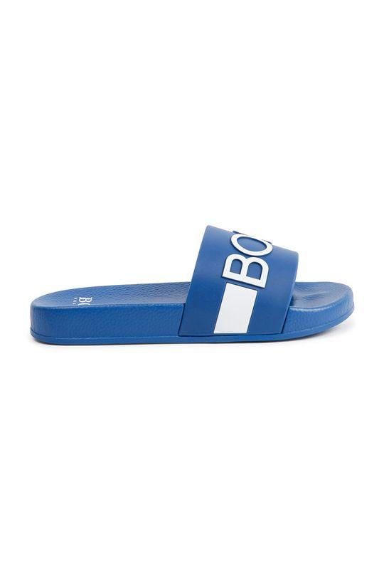 Boss - Klapki dziecięce niebieski