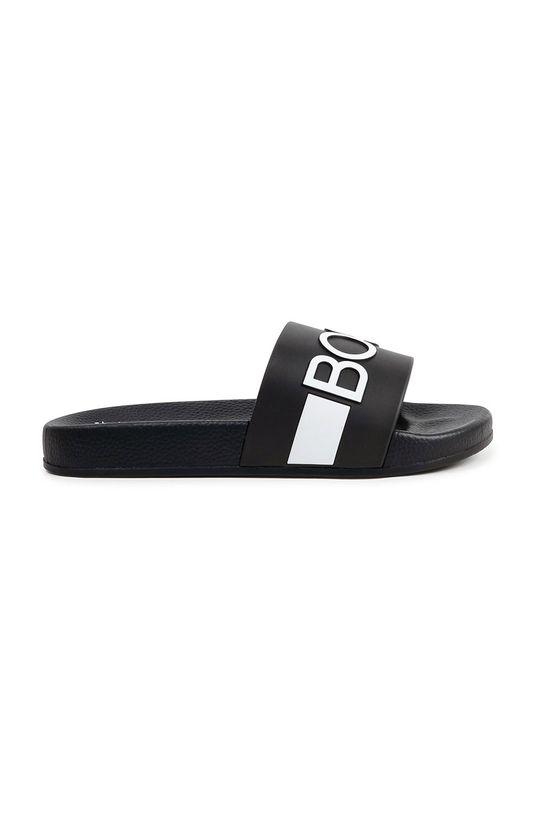 Boss - Dětské pantofle černá