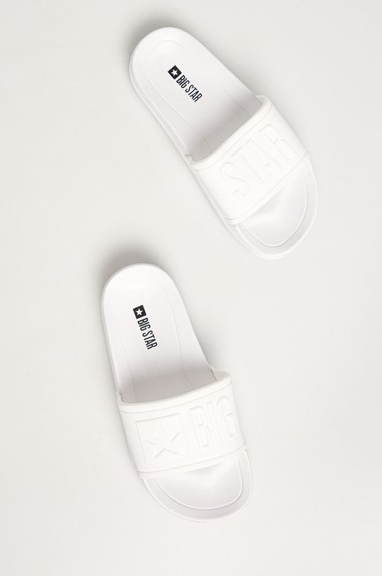 Big Star - Dětské pantofle bílá