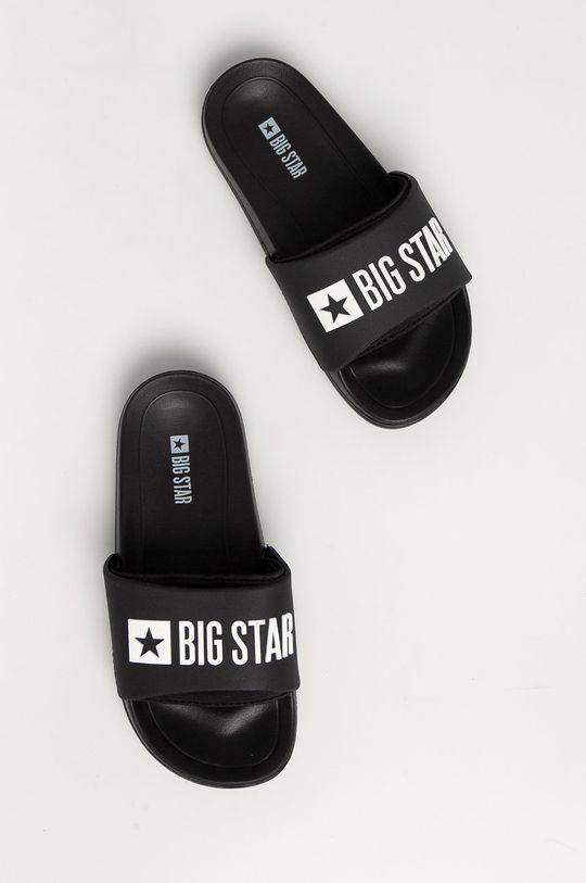 Big Star - Klapki dziecięce czarny