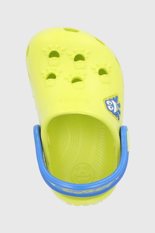 żółty Coqui - Klapki dziecięce