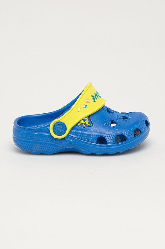 modrá Coqui - Dětské pantofle Dětský