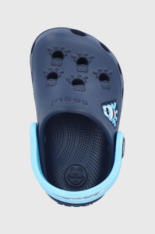 granatowy Coqui - Klapki dziecięce