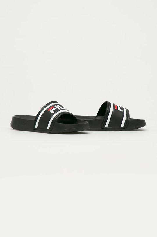 Fila - Dětské pantofle černá