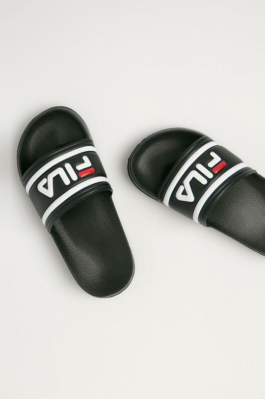 černá Fila - Dětské pantofle