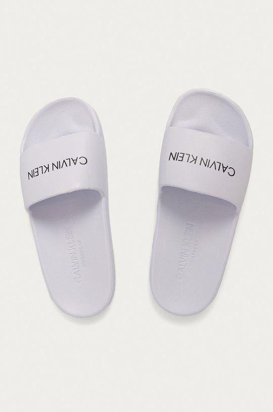 bílá Calvin Klein - Pantofle