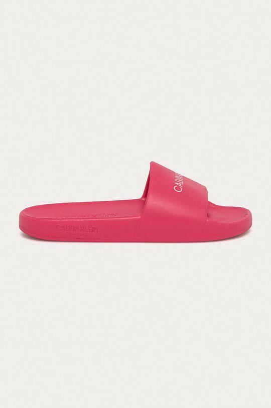 ostrá růžová Calvin Klein - Pantofle Dětský