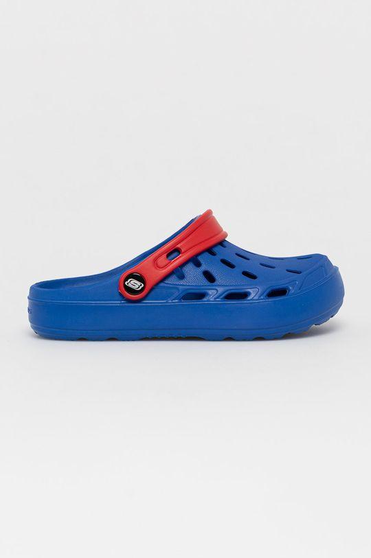 niebieski Skechers - Klapki dziecięce Dziecięcy