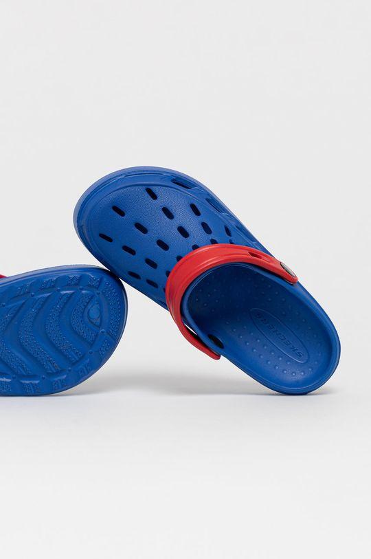 niebieski Skechers - Klapki dziecięce