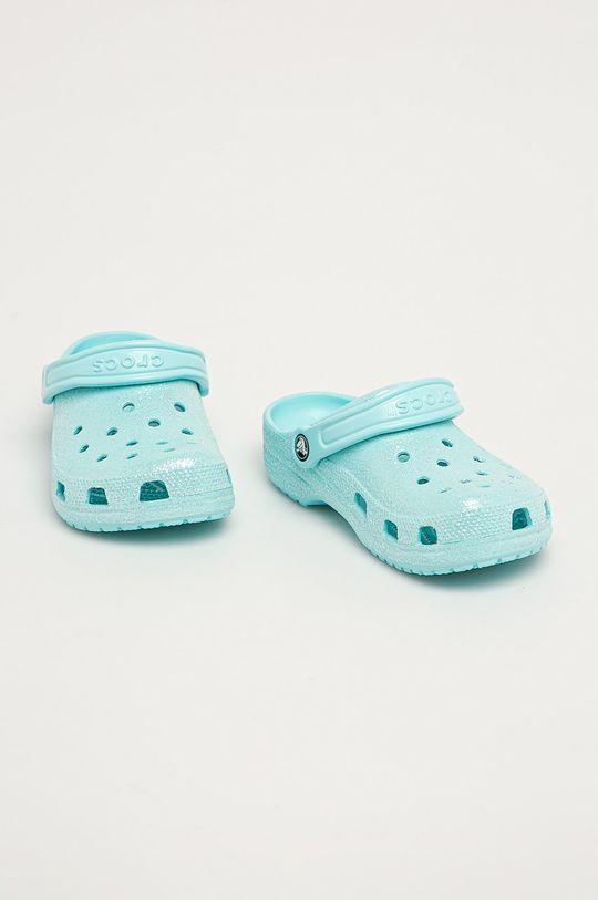 Crocs - Klapki dziecięce jasny niebieski