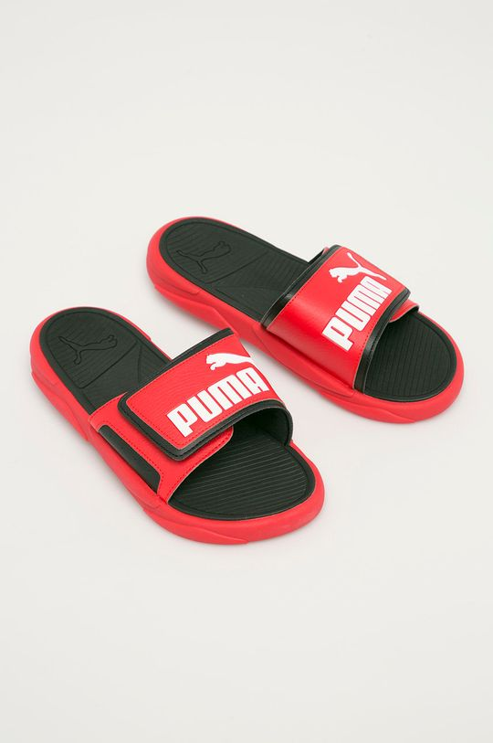 Puma - Pantofle Royalcat Comfort Poppy červená