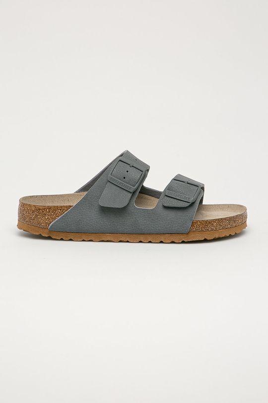 šedá Birkenstock - Pantofle Arizona Pánský