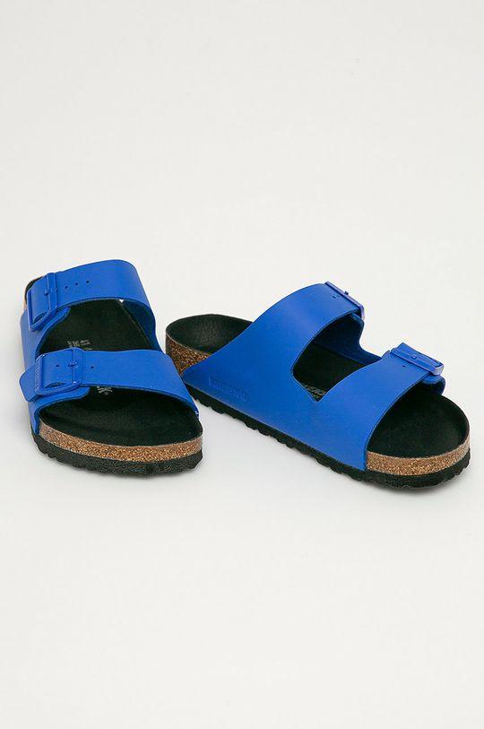 Birkenstock - Klapki Arizona niebieski