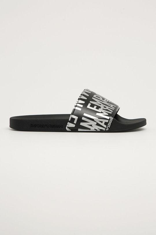 černá Emporio Armani - Pantofle Pánský