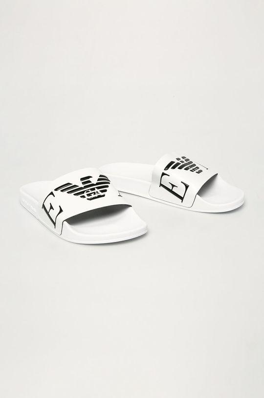 Emporio Armani - Klapki biały