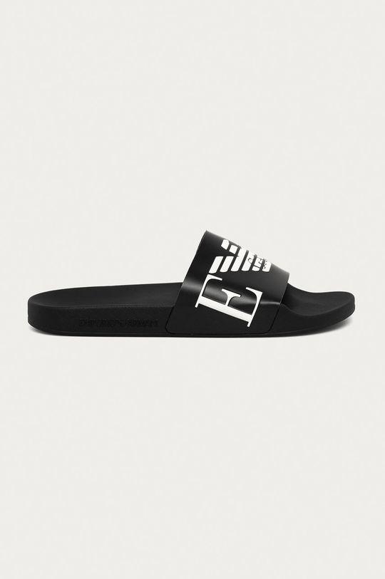 negru Emporio Armani - Papuci De bărbați