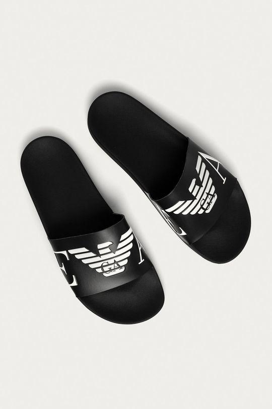 Emporio Armani - Papuci negru