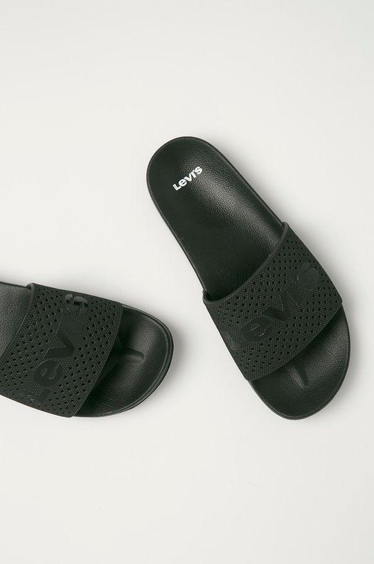 čierna Levi's - Šľapky