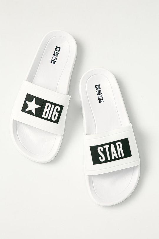 Big Star - Pantofle bílá