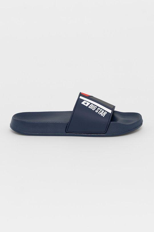 námořnická modř Big Star - Pantofle Pánský