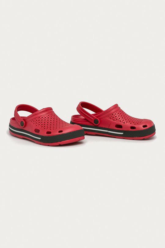 Coqui - Pantofle ostrá červená