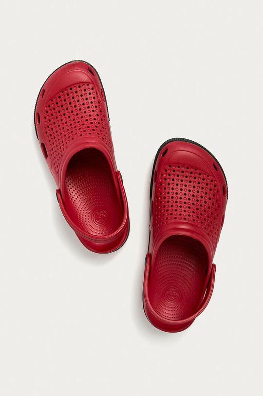 ostrá červená Coqui - Pantofle