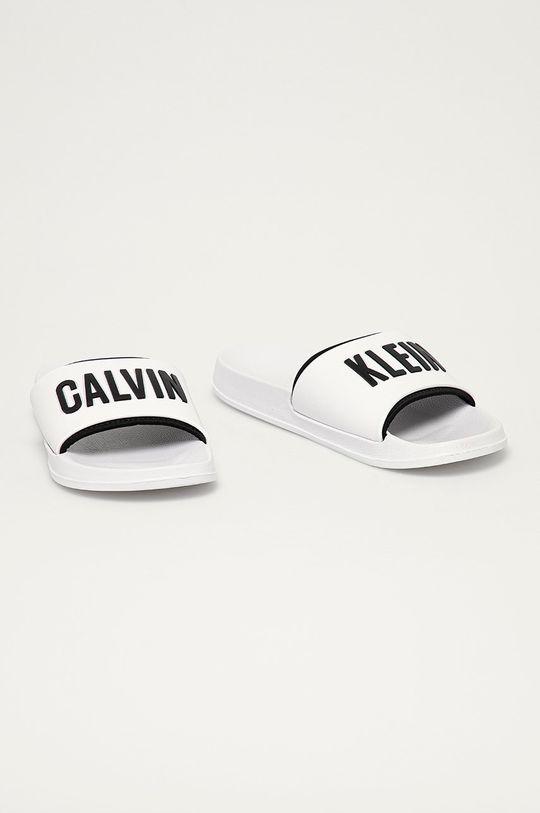 Calvin Klein Underwear - Šľapky biela