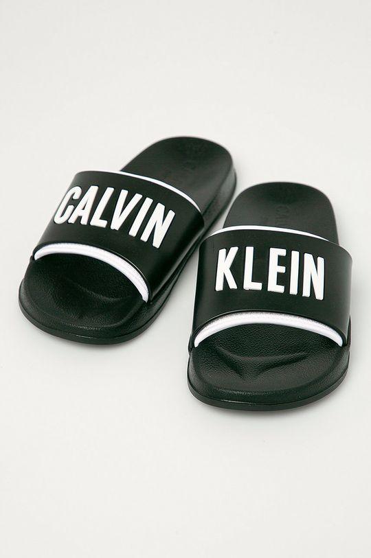 Calvin Klein Underwear - Pantofle černá