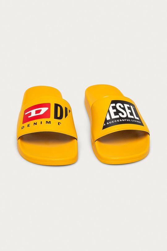 Diesel - Šľapky žltá