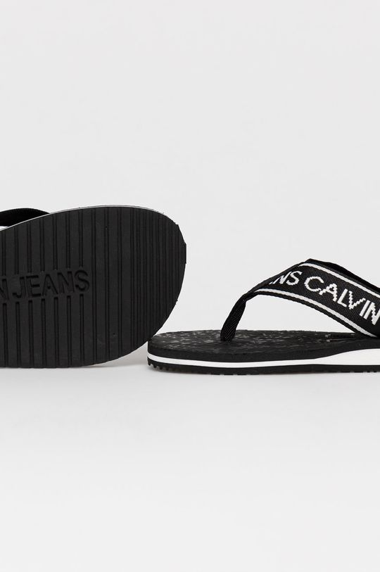 Calvin Klein Jeans - Žabky  Zvršok: Textil Vnútro: Syntetická látka, Textil Podrážka: Syntetická látka