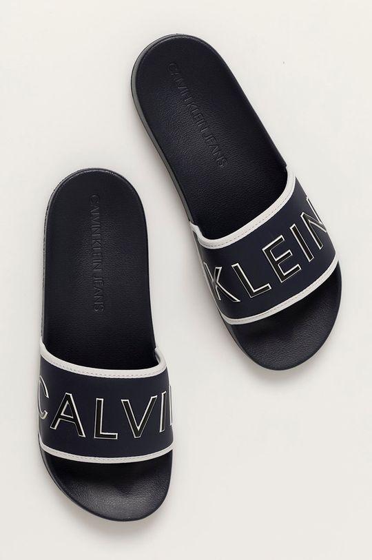 námořnická modř Calvin Klein Jeans - Pantofle