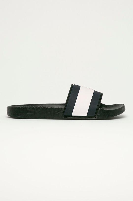 černá Tommy Hilfiger - Pantofle Pánský